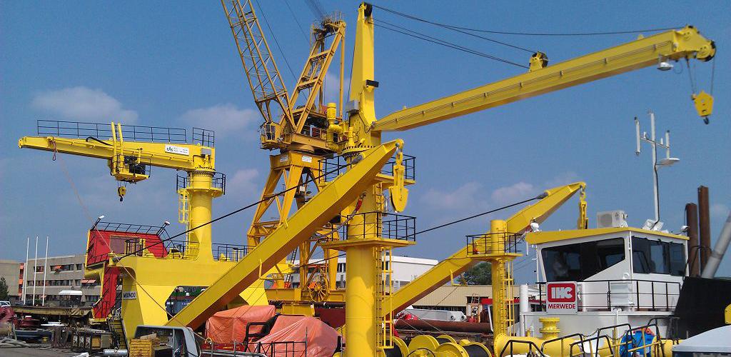 Straight-boom-rope-marine-crane